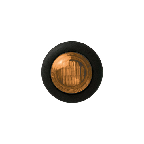 SIDOMARKERING LED ORANGE 12/24V RUND