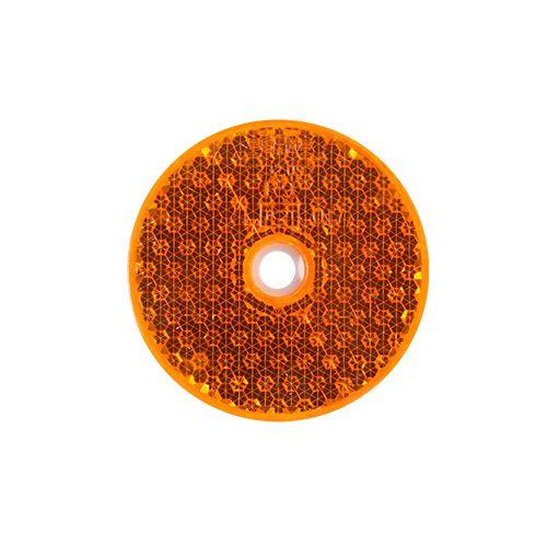 REFLEX RUND ORANGE  60MM
