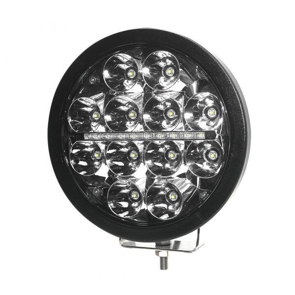 Runt extraljus LED med positionsljus