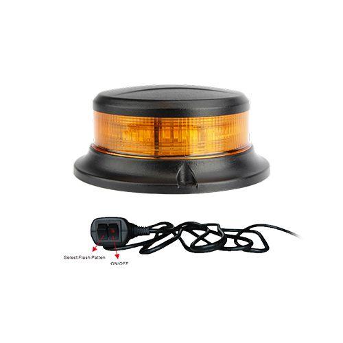 Varningsljus Puck LED med cigg-plugg - godkänt enligt R65