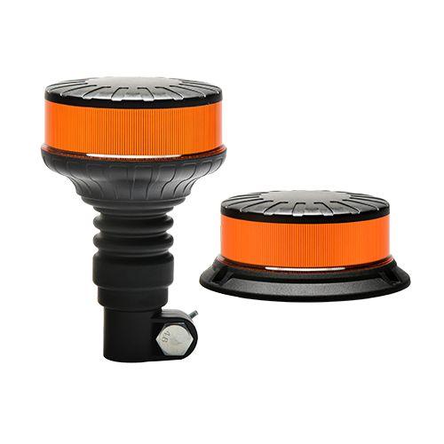 LED varningsljus MINI med roterande- eller blixtljus