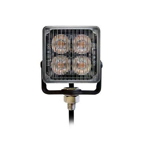 Riktat LED varningsljus SQ4 - E-godkänt enligt R65