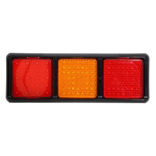BAKLJUS LED 12/24V  BAK/STOPP/BLINK/DIM