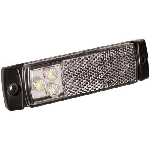 POSITIONSLJUS LED  VIT 12/24V M REFLEX