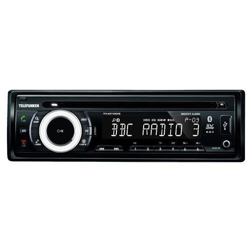 DAB RADIO MED BT, AU X. USB. KORT CHASSI