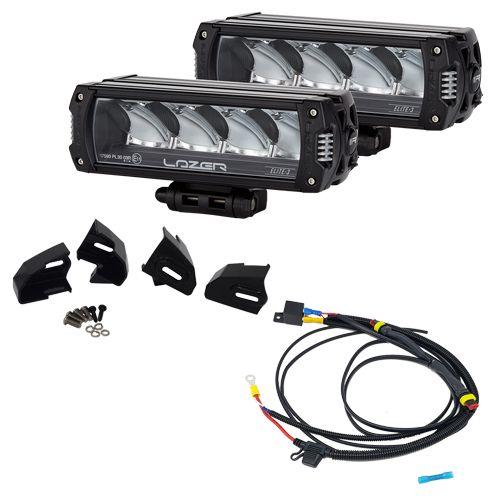 Lazer extraljus och monteringskit för Ford Transit Custom - Triple-R 750 Elite