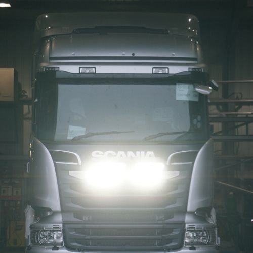 LAZER SCANIA GRILL  KIT SILVER