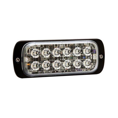 BLIXTLJUS 12 LED R65  ORANGE 12/24 3M ADR