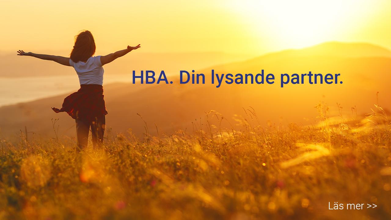 HBA - din lysande partner