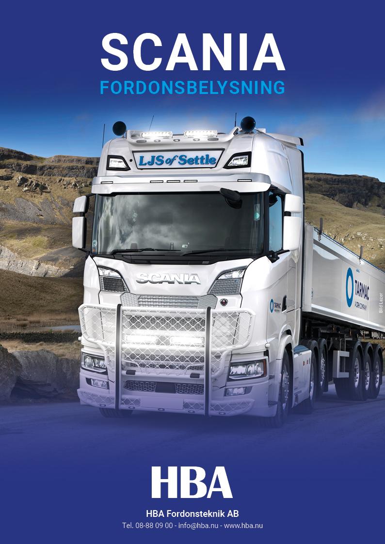Scania Fordonsbelysning