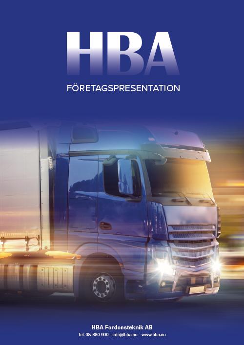 HBA Företagspresentation